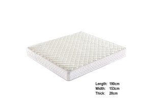 UB Furniture 20CM Extra Thick Queen Size Comfortable Environmental Friendly Rebonded Foam Mattress (RQ59)