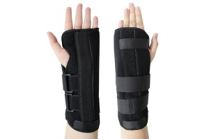 Medical Breathable Light-weight Wrist Brace Support Sprain Arthritis Splint Band Strap 1-Pair Left And Right