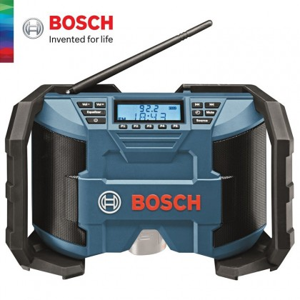 BOSCH Professional GML 10.8V-LI Cordless Jobsite Radio (Without Battery & Charger) - 0601429200