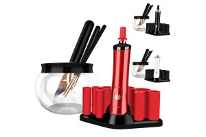 Professional Portable Electronic Automatic Quick Drying Makeup Brush Tool Cleaner