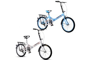 20 Inch Folding Bike Foldable Bicycle Cycling Mountain Bike Off-road City Bicycle Road Bike Adult  Bicycle