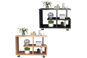 Sofa Side Cabinet Side Table Small Coffee Table Corner Several Sofa Side Cabinet Corner Table (TT014)