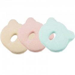 Baby Pillow For Memory Foam Head Positioner Neck Support (0-12 Months)