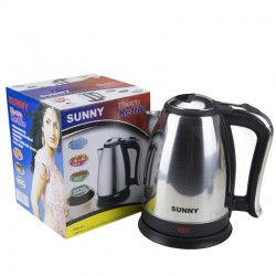 Electric Kettle 2.2L 1800W Stainless Steel Anti-Dry Protection Electric Auto Cut Off Jug Kettle