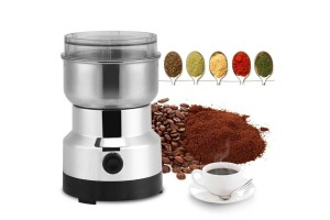 Stainless Steel 200W Electric Coffee Bean Grinder Household Beans Nuts Mill Grinding Machine
