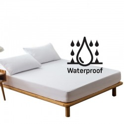 Fitted Sheet Waterproof Mattress Protector (180cm)