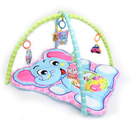 Baby Newborn Fitness Frame Baby Cartoon Game Pad Early Education Puzzle Climbing Mat Toy Pad 0 Years Old To1 Year Old