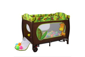 Cobabies Baby Products Multi-function Foldable Crib Export Foreign Trade Baby Game Bed