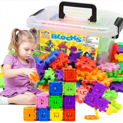110Pcs Early Childhood Education Recognition 3-6 Years Old Digital Characters Literacy