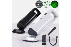 12V Portable Wireless High Power Handheld 120W Wet And Dry Cyclonic Suction Car Vacuum Cleaner Wired (AKS-8001)