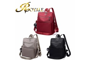 ROYALE Oxford Cloth Backpack Waterproof Travel Backpack Girls School Casual Daypack (RYL-242)