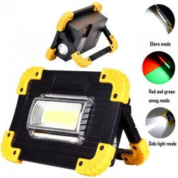 20W LED Bright Camping And Woking Outdoor Rechargeable Or Battery Light Lamp