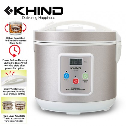 KHIND 5.0L Intelligent Black Garlic Fermenter (GL501)