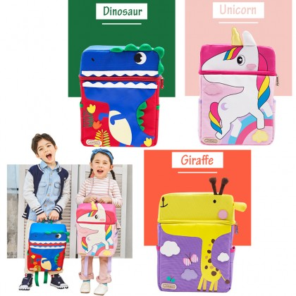 Cartoon Animal Children's School Bag Kindergarten Cartoon Out Backpack Bag Suitable For 1-6years Old Kids