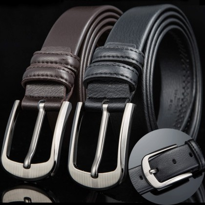 Men Belt Material Microfiber Belt Business Casual Scratch Resistant Pants Belt