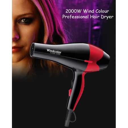 2000W Wind Colour Professional Hair Dryer