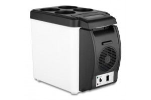 Portable 6L Cooling and Warming Car Fridge Refrigerator