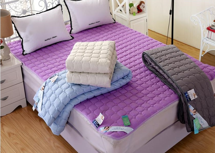 Suitable for King & Queen Bed Mattress Protector Cover Pad Fitted Bedding Sheet (170cm x 200cm)