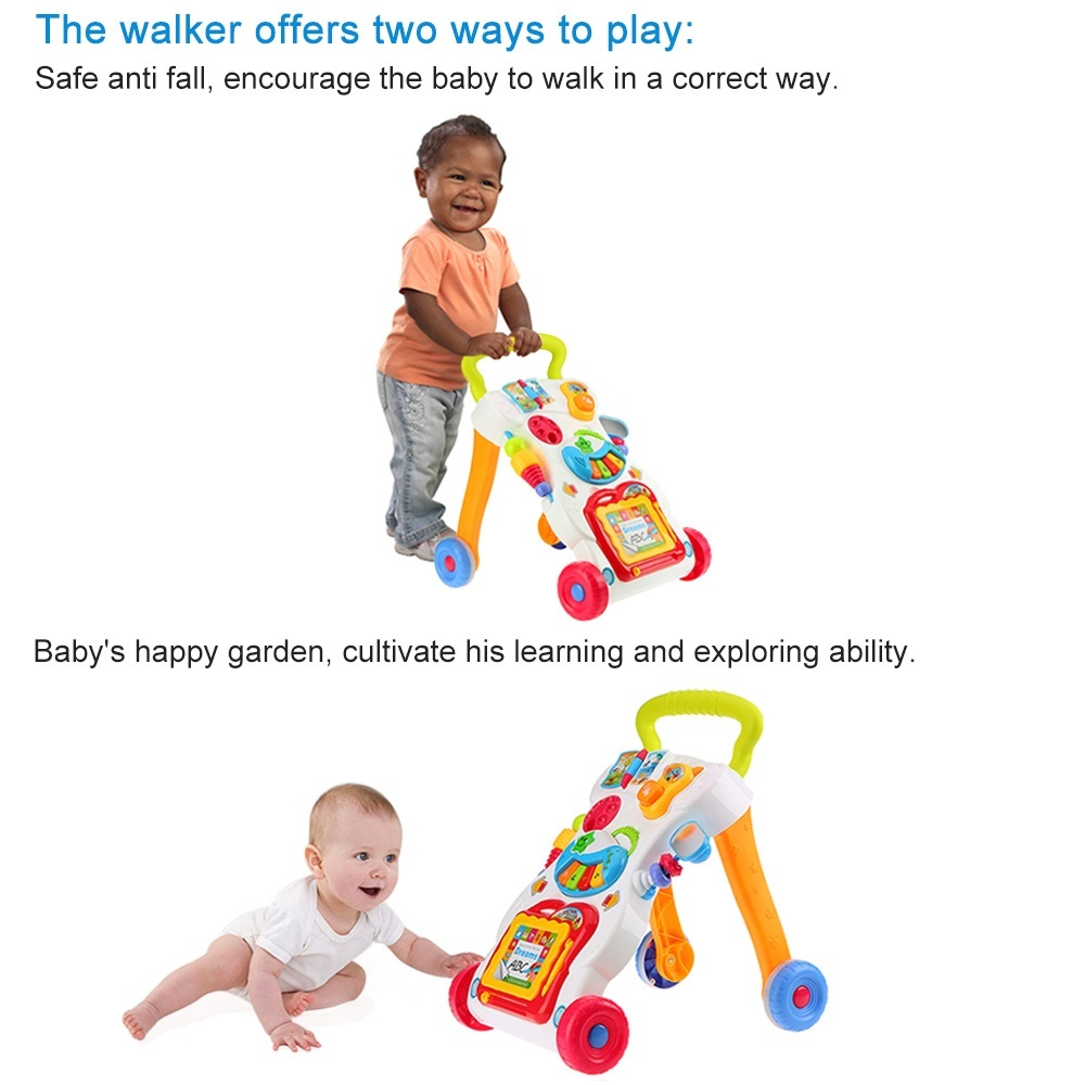 Toys For Toddlers Learning To Walk : Creative baby learning walker music end pm