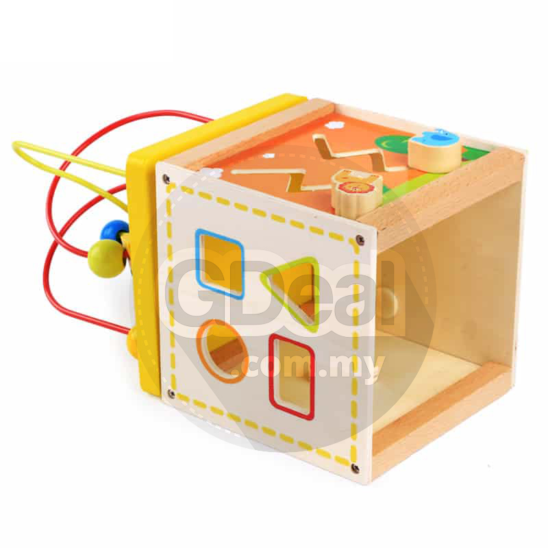 Baby Kid Educational Toy Multifunction Toy Box Color