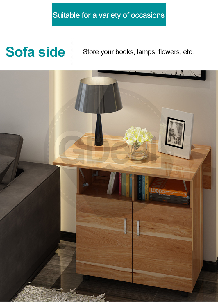 Multifunctional Folding Table Simple Home Dining Side
